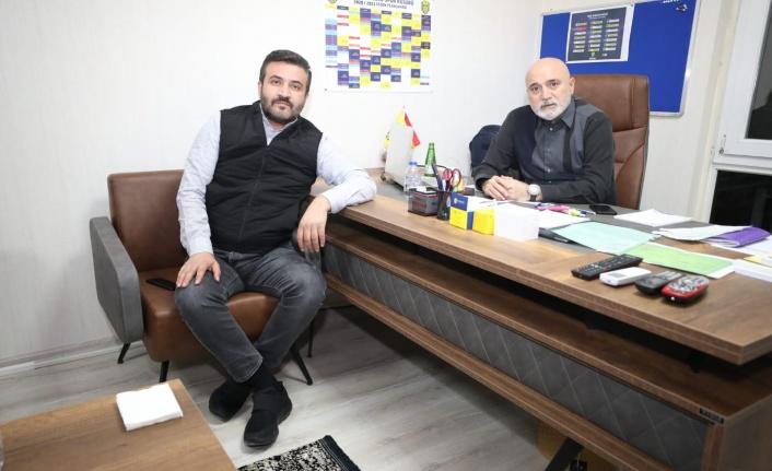 Ankaragücü Başkanı Fatih Mert'ten Hikmet Karaman ile İlk Fotoğraf
