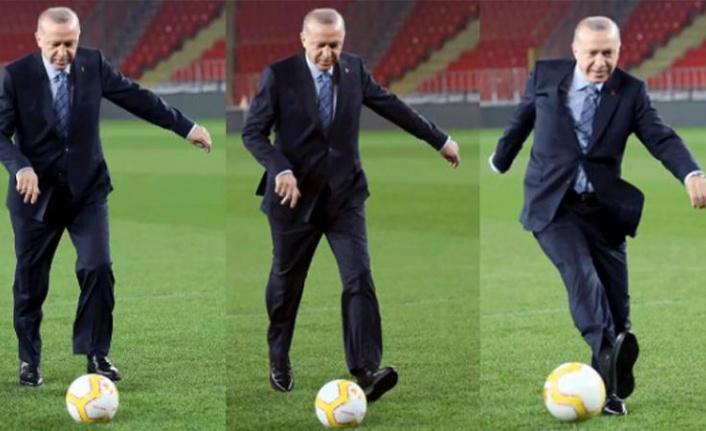 Cumhurbaşkanı Erdoğan: Durmak Yok Gollere Devam