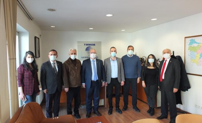 CHP Ankara'dan Elektrik Mühendisleri Odası'na Ziyaret