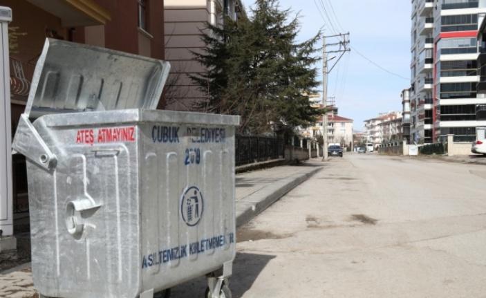Çubuk'ta Çöp Toplama Sisteminde Değişim