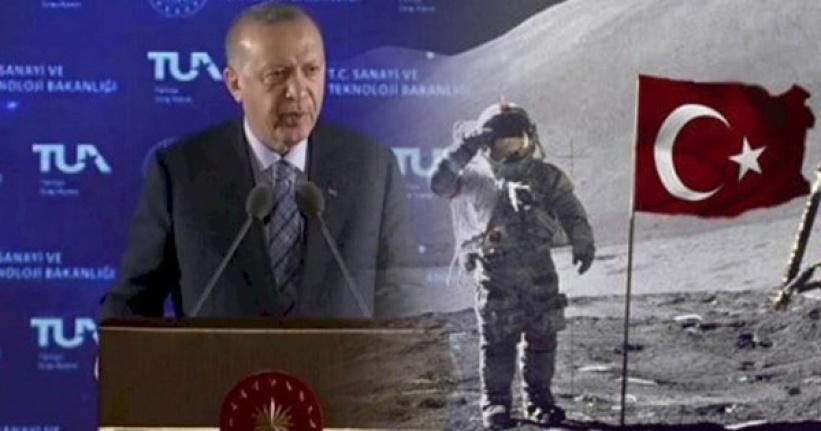 Cumhurbaşkanı Erdoğan Açıkladı: Uzaya Bir Türk Göndereceğiz