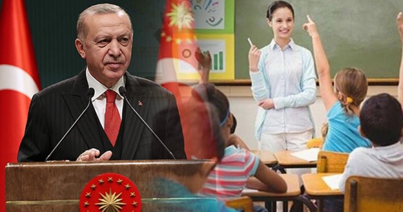 Cumhurbaşkanı Erdoğan Müjdeyi Verdi: 20 Bin Öğretmen Atanacak