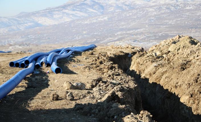 Elmadağ'da Yeni Su Kaynakları için Düğmeye Basıldı