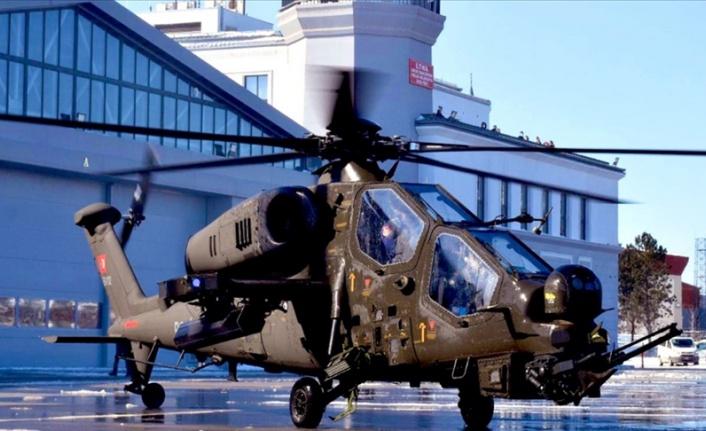 Emniyete İlk ATAK Helikopteri Teslim Edildi