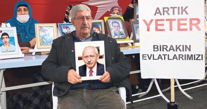 Kılıçdaroğlu'nun Kardeşi Evlat Nöbetine Katılacak: Abimi PKK Esir Aldı