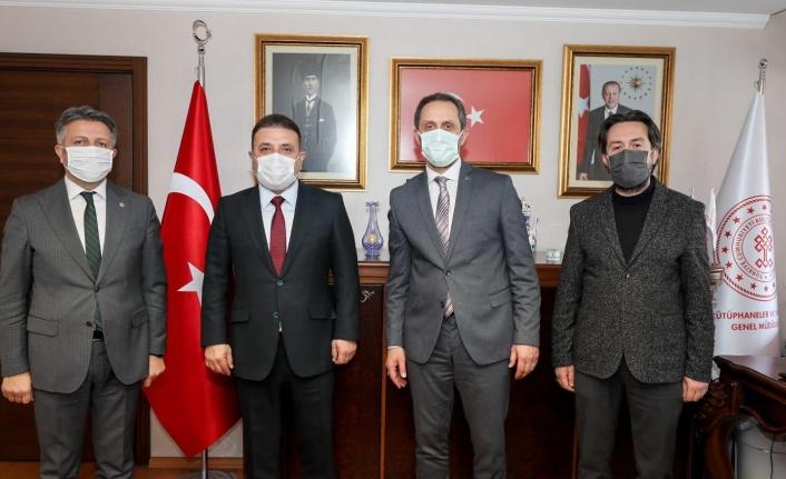 Murat Ercan'dan Ali Odabaş'a 'Hayırlı Olsun' Ziyareti