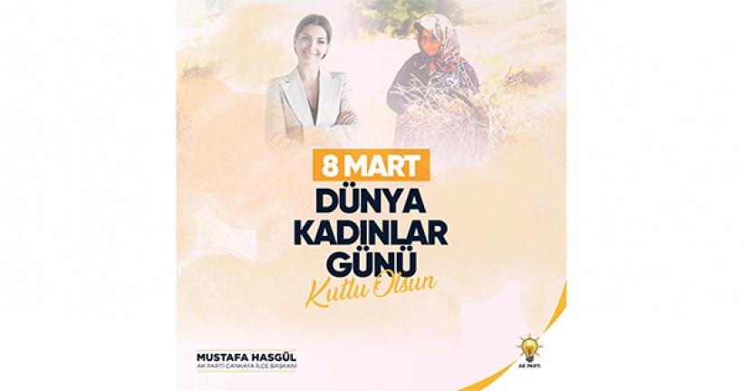 AK Parti Çankaya'dan 8 Mart Dünya Kadınlar Günü'nde Anlamlı Mesaj