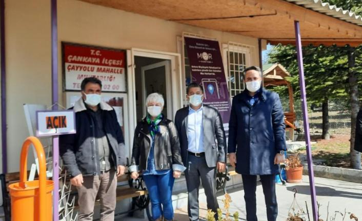Ak Parti Çankaya İlçe Başkanlığı Muhtarlıkları Ziyaret Etmeye Devam Ediyor