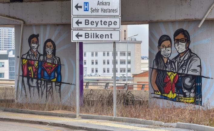 Ankara'da Sağlık Çalışanlarına Büyük Vefa