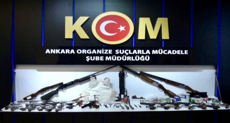 Ankara'da Silah Kaçakçılığı Operasyonu: Çok Sayıda Gözaltı!