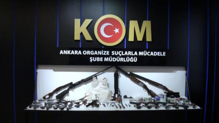 Ankara'da Silah Ticareti Yapan Örgüte Operasyon: 8 Gözaltı