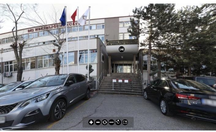 Ankara Üniversitesi Diş Hekimliği Fakültesi'nden 360 Derece Sanal Tur Uygulaması