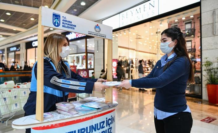 Ankara Zabıtası Tüketici Hakları için Sahada Çalışma Yapıyor