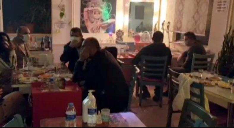 Ankara'da Pavyona Çevrilen 2 Kafeye Yapılan Baskında 40 Kişi Yakalandı