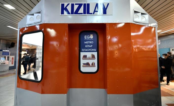 Başkent'e Yeni Hizmet: Metro Kitap İstasyonu Açıldı