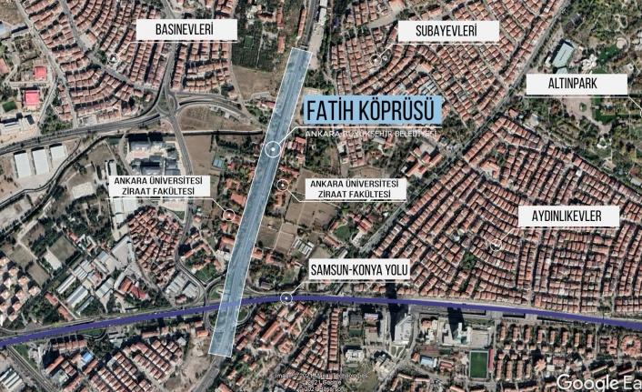 Büyükşehir'den Keçiören'in Trafik Sorununa Çözüm Projesi: Fatih Köprüsü Yenileniyor