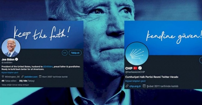 CHP'den Biden Kampanyası: Kopyala, Yapıştır!