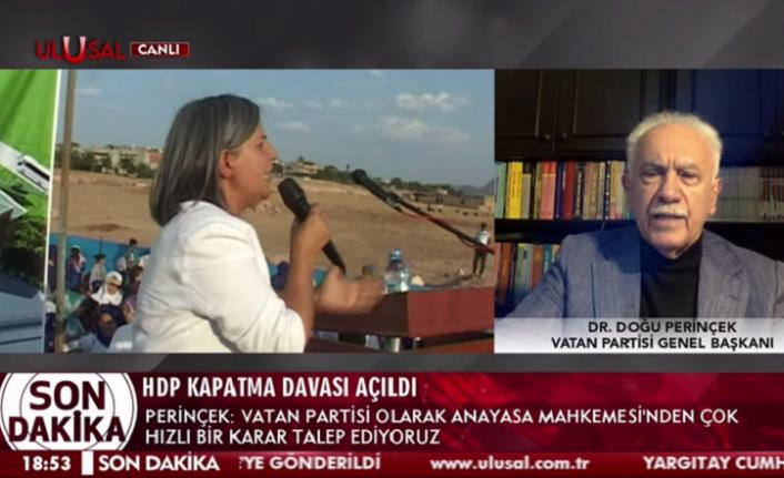 HDP'nin Kapatılmasına İlişkin İlk Açıklama Doğu Perinçek'ten Geldi