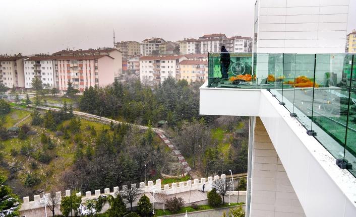 Keçiören'de Panoramik Asansör Hizmete Başlayacak