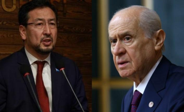 Uygur Ayrılıkçısı Seyit Tümtürk'ten Devlet Bahçeli'ye Sert Eleştiri