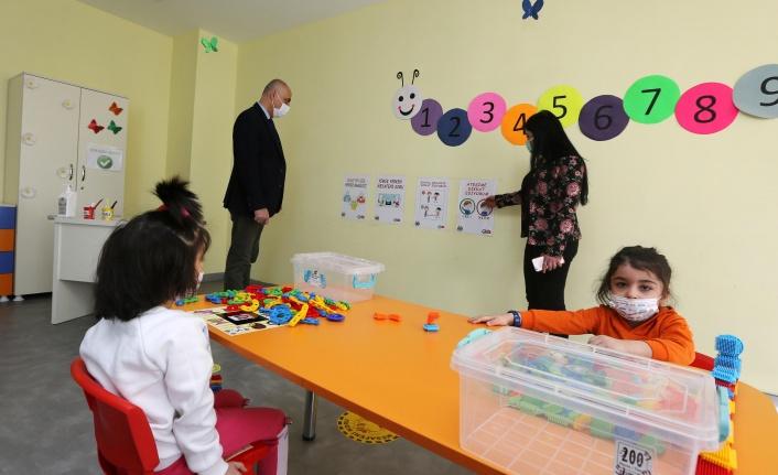 Yenimahalle Kreşlerine 'Temiz Okul' Belgesi
