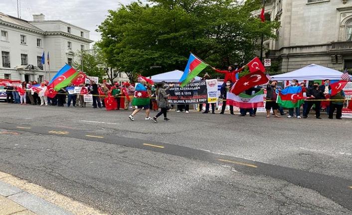 ABD'de Yaşayan Türklerden Biden'a Protesto
