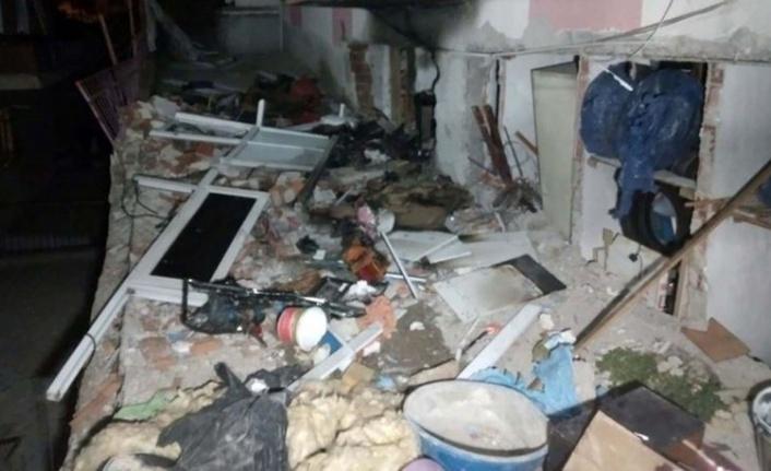 Ankara'da 2 Katlı Binada Patlama: Evli Çift Yaralandı