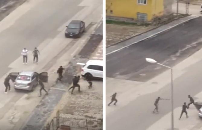 Ankara'da İki Grup Silahlı Sopalı Kavga Etti!