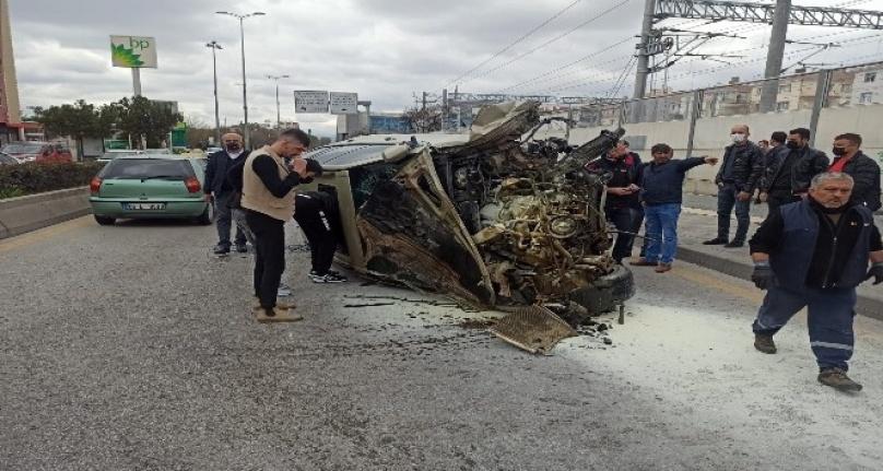Ankara'da Korkunç Kaza: Trafik Kapandı