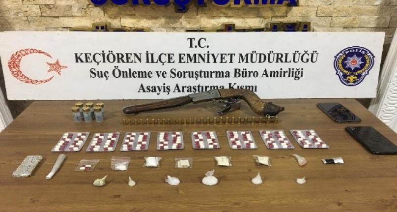 Ankara'da Uyuşturucu Operasyonu: Suçüstü Yakalandılar