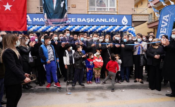 Deva Partisi Ali Babacan'ın Katılımıyla Mamak İlçe Binasını Açtı