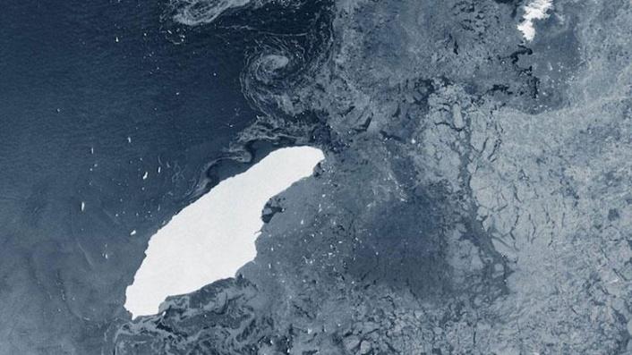 Dünyanın En Büyük Buzdağı Artık Yok!