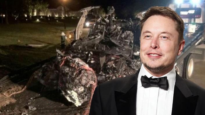 Elon Musk'tan 2 Kişinin Öldüğü Tesla Kazası Açıklaması: Otopilot Devrede Değildi