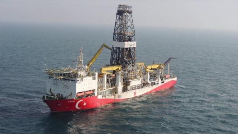 Fatih Sondaj Gemisi Karadeniz Amasra-1'e Yola Çıktı