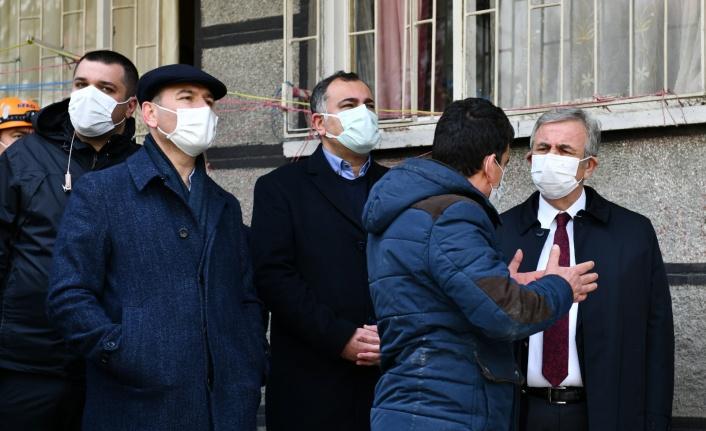 Göçük Alanında İkâmet Eden Tüm Mağdurlara 15 Bin Lira Destek!