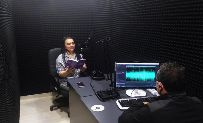 Keçiören'de Hizmet Veren 'Sesli Kütüphane'ye Büyük İlgi