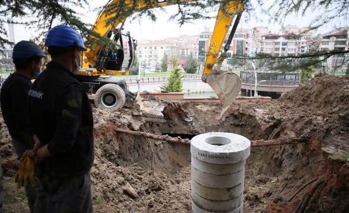 Keçiören Ihlamur Vadisi Parkı'nda Yaşanan Su Taşkını Sorunu Çözüldü