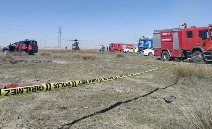 Konya'da Askeri Gösteri Uçağı Düştü!