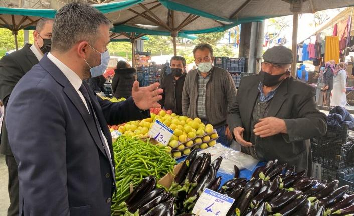 Pursaklar'da Gıda Denetimi Tüm Hızıyla Sürüyor