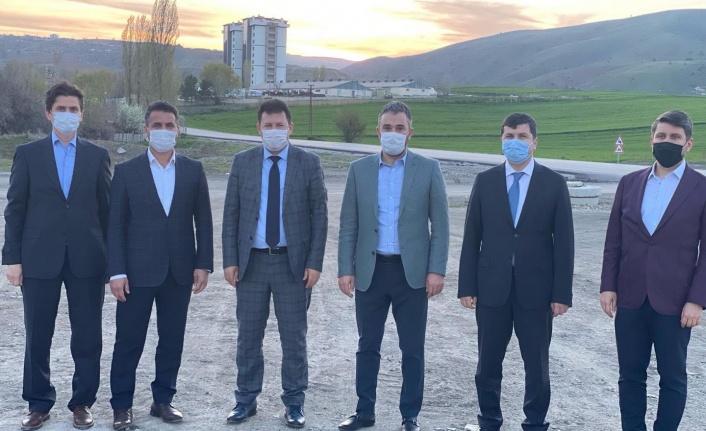 Tarım ve Orman Bakanlığı Daire Başkanlarından Başkan Ertuğrul Çetin'e Ziyaret