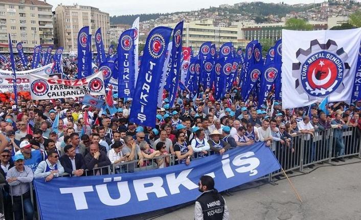 Türk-İş'ten 1 Mayıs Bildirgesi