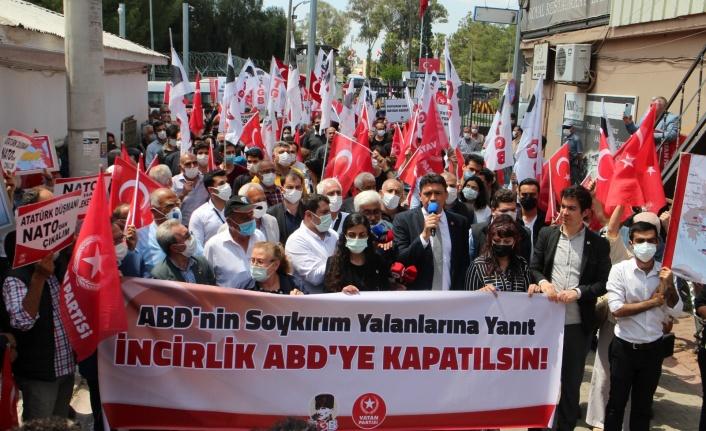 Vatan Partisi İncirlik Önünden Seslendi: Üsler TSK'nın Kontrolüne Verilsin