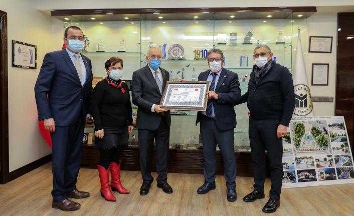 Yenimahalle Belediye Başkanı Fethi Yaşar, OSİAD'ı Ağırladı