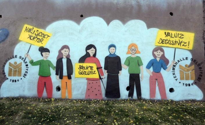 Yenimahalle Duvarları Grafiti ile Renkleniyor