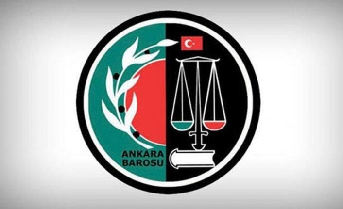 Ankara Barosu'ndan İsrail'e Tepki