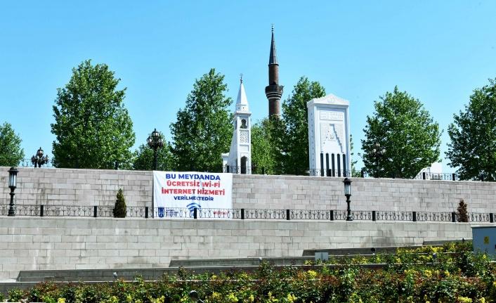 Ankara'da 27 Meydanda Ücretsiz WİFİ