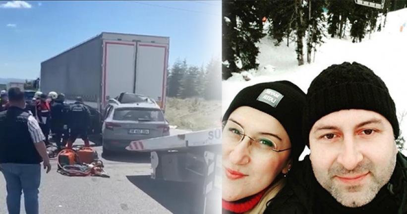 Ankara'da Korkunç Kaza: Bir Aile Yok Oldu!