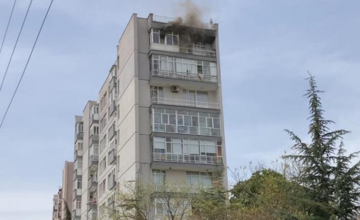 Ankara'da Korkutan Yangın: Evinin Yandığını Anlamadı!