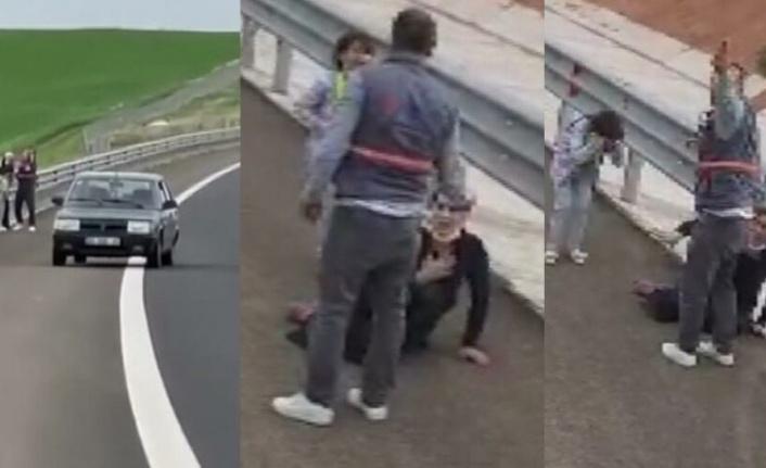 Ankara'da Skandal Görüntü: Çocuğunun Gözü Önünde...