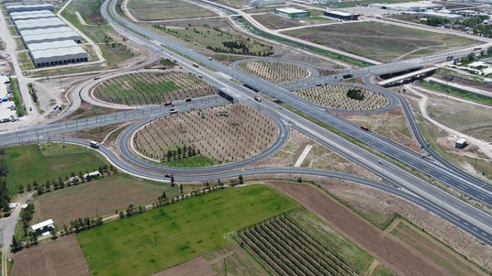 Ankara'da Yeni Köprülü Kavşak ve Bağlantı Yolları Devreye Giriyor